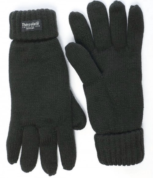 Thinsulate Gloves in Grey
