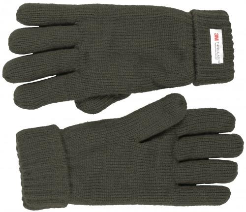 Thinsulate Ladies Gloves in Dark Grey
