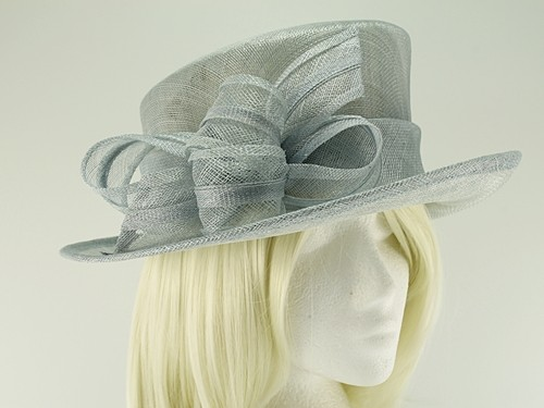 Hawkins Collection Short Upbrim Wedding Hat