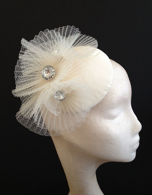 Couture by Beth Hirst Crystal Crin Ripple Button