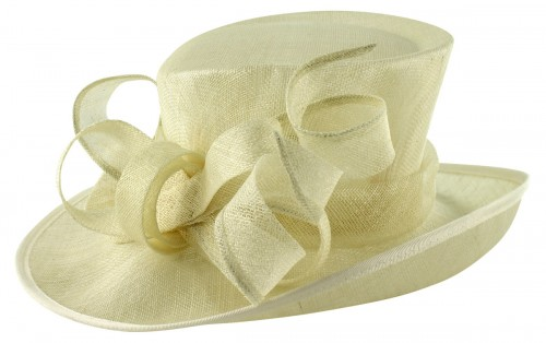 Elegance Collection Events Hat in Ivory