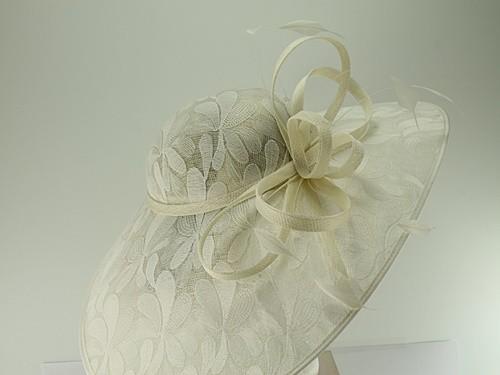 Elegance Collection Pattern Saucer Headpiece