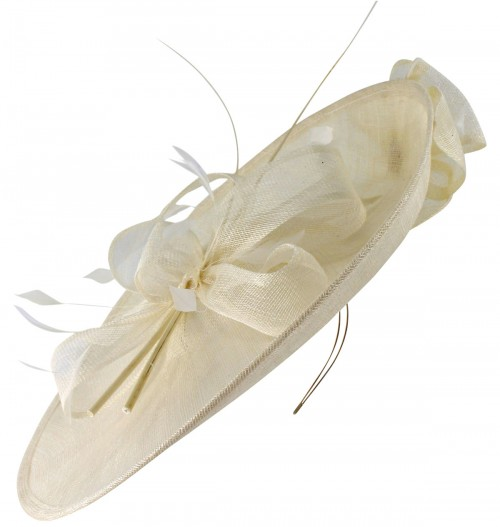 Max and Ellie Events Disc Headpiece in Ivory