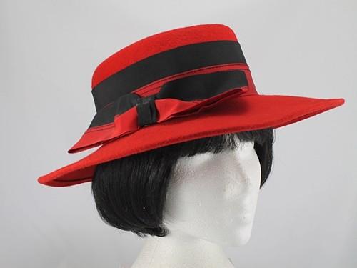 Ascot Hats 4U: Red Kangol Max and Ellie