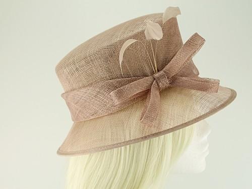 7b910403e9d Wedding Hats 4U - Failsworth Millinery Wedding Hat in Latte - 9136