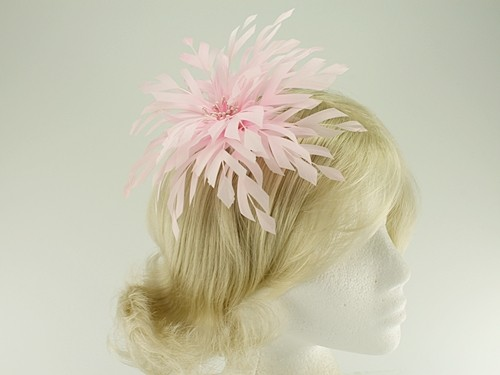Aurora Collection Shaped Feather Fascinator
