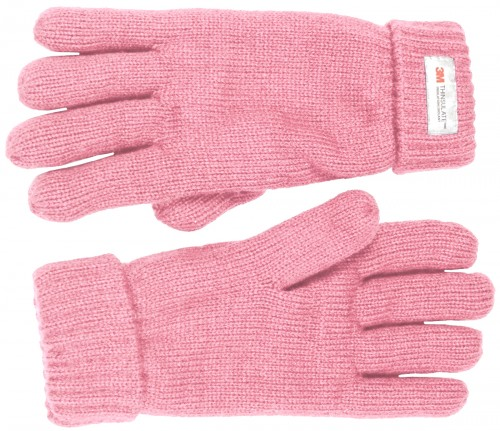Thinsulate Ladies Gloves in Light Pink