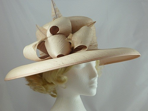 Light Pink Wedding / Events Hat