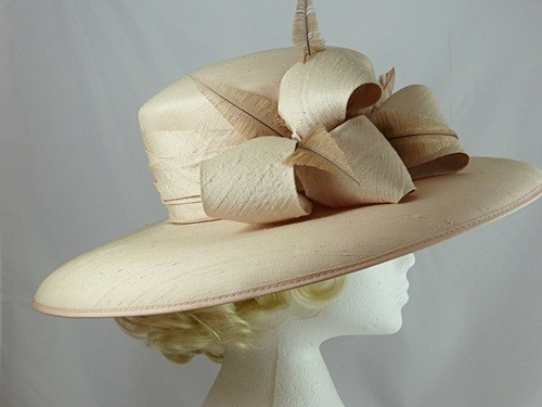 Light Pink Ascot Hat