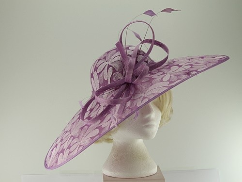 Elegance Collection Pattern Saucer Headpiece