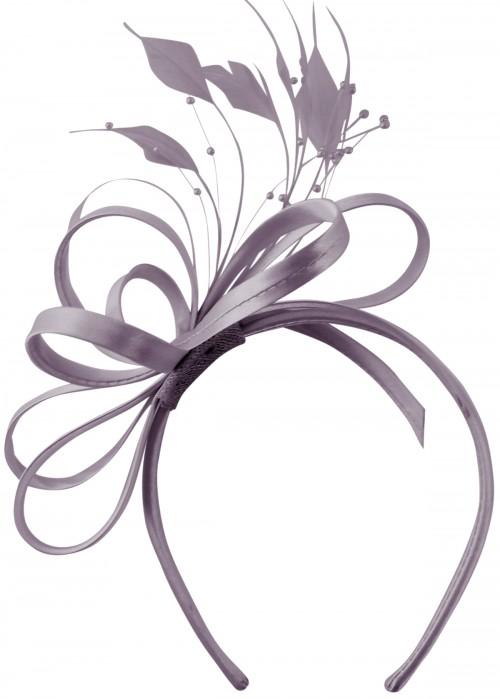 Elegance Collection Satin Loops Aliceband Fascinator