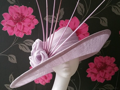 Matthew Eluwande Millinery Lady Lavenda Events Hat
