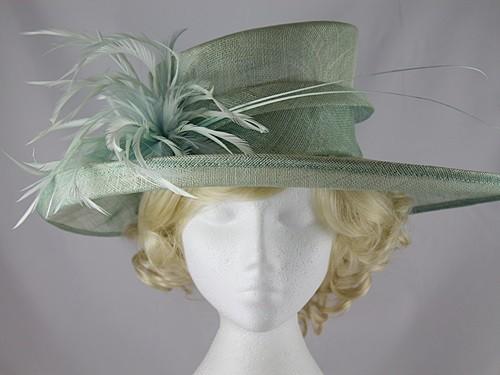 3c2f6c6f707d2 Maddox Aqua Wedding / Events Hat