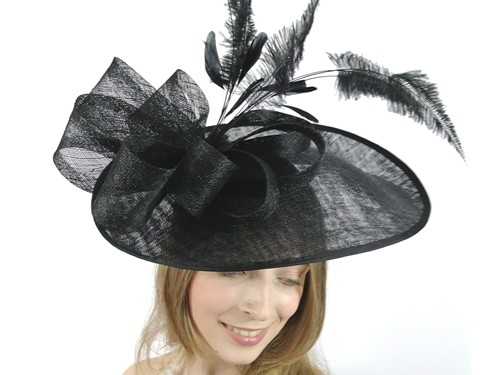 Matthew Eluwande Millinery Black Events Disc