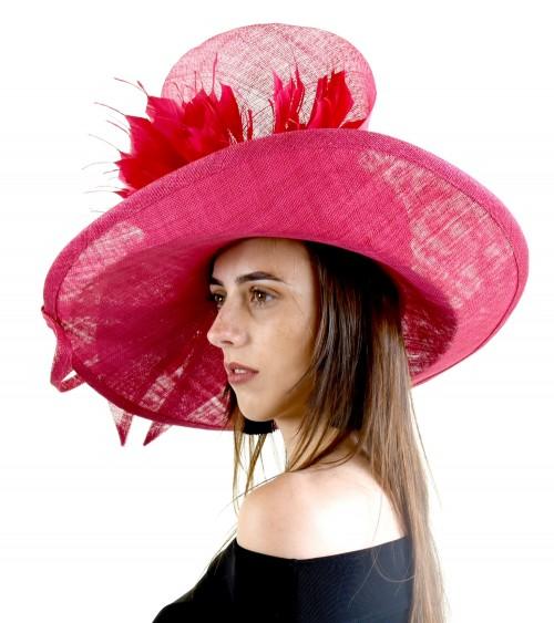 Matthew Eluwande Millinery Pink Events Hat