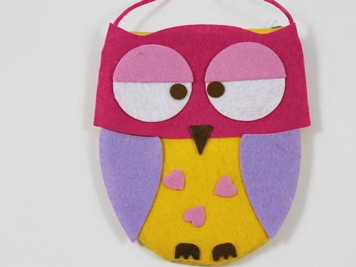 Girls Owl Bag