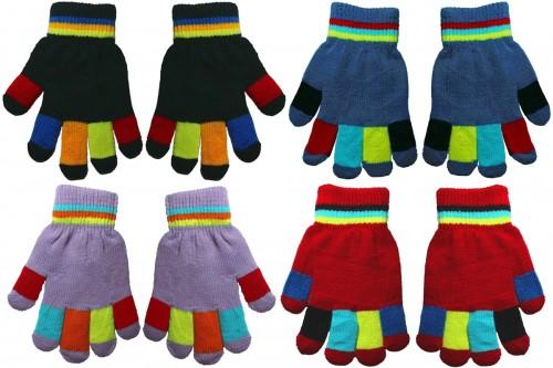 Magic Set of Four Magic Colourful Kids Gloves