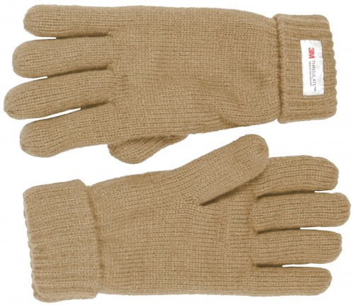 Thinsulate Ladies Gloves in Natural