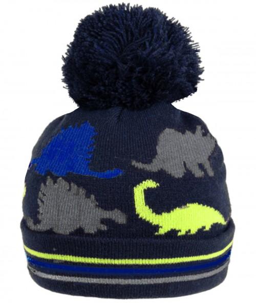SSP Hats Dinosaur Beanie Bobble Ski Hat