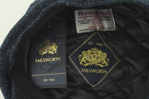 Failsworth Millinery Carloway Flat Cap