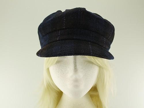 Failsworth Millinery Harris Tweed Bakerboy Cap