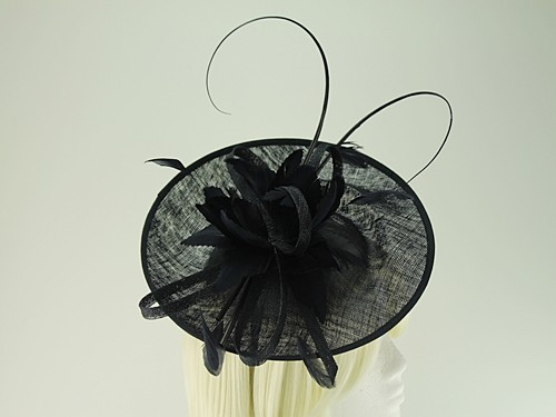 Failsworth Millinery Shaped Sinamay Disc