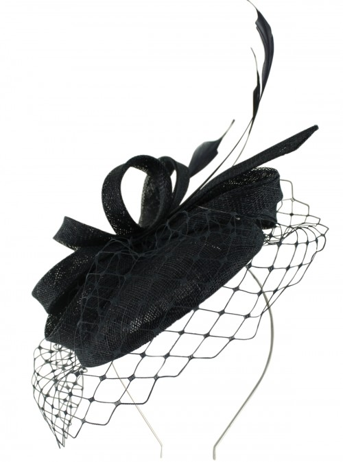 Failsworth Millinery Sinamay Pillbox