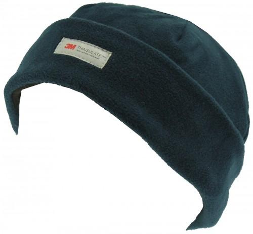 SSP Hats Thinsulate Fleece Ladies Beanie Hat in Navy