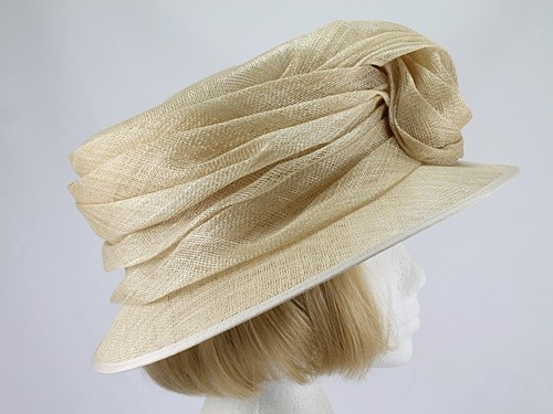 Nigel Rayment Pale Corn Formal Hat