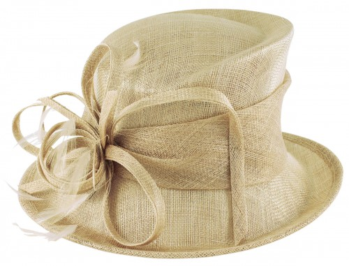 Max and Ellie Occasion Hat in Nude