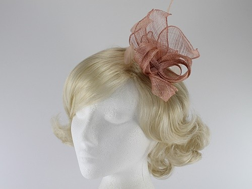 Molly and Rose Sinamay Comb Fascinator
