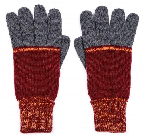 Boardman Cruz Mens Multi Colour Gloves in Orange