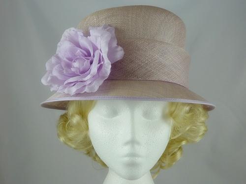 655ee23cb827d Balfour Pale Lilac Occasion Hat