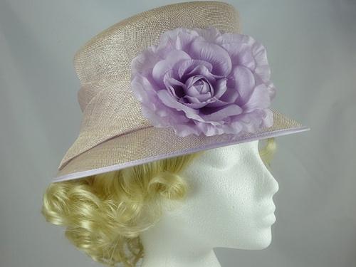 2a65a9a7 Wedding Hats 4U - Balfour Pale Lilac Occasion Hat