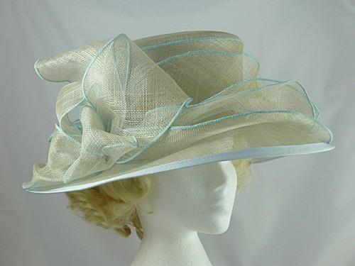 b0a43217578a8 Pale Blue Occasion Hat