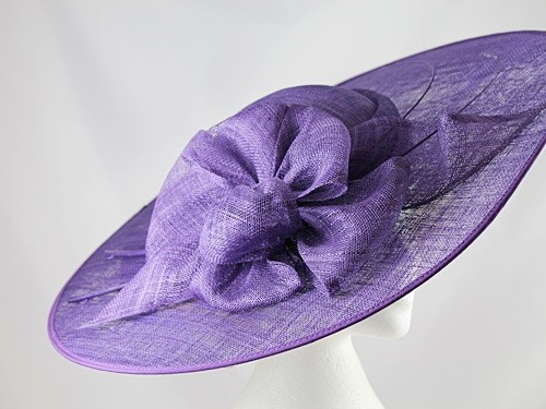 5c9d8daf788d3 Wedding Hats 4U - Failsworth Millinery Events Saucer Headpiece in Pansy