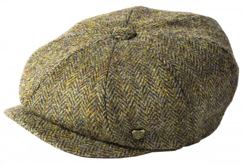 Failsworth Millinery Carloway Harris Tweed Baker Boy Cap (Latest Version)