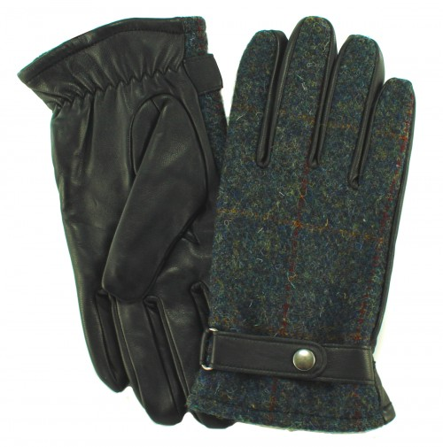 Failsworth Millinery Harris Tweed Gloves