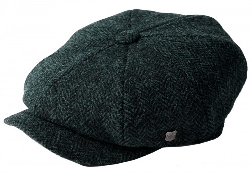 Failsworth Millinery Carloway Harris Tweed Baker Boy Cap (Latest Version)