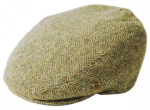 Failsworth Millinery Stornoway Harris Tweed Flat Cap (Latest Version)