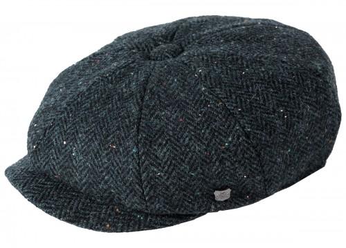 Failsworth Millinery Carloway Harris Tweed Baker Boy Cap