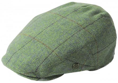 Failsworth Millinery Gamekeeper Wool Flat Cap