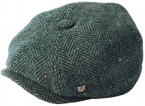Failsworth Millinery Malmo Tweed Baker Boy Cap