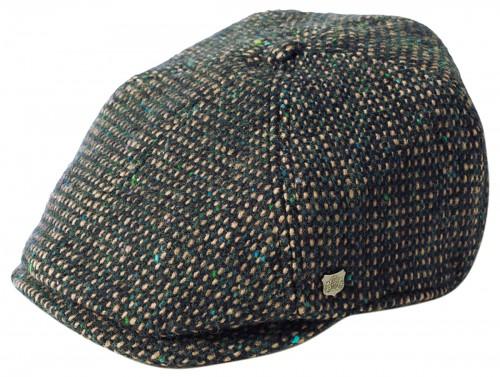 Failsworth Millinery Hudson Donegal Six Piece Cap