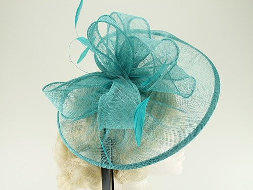 Failsworth Millinery Sinamay Disc Headpiece