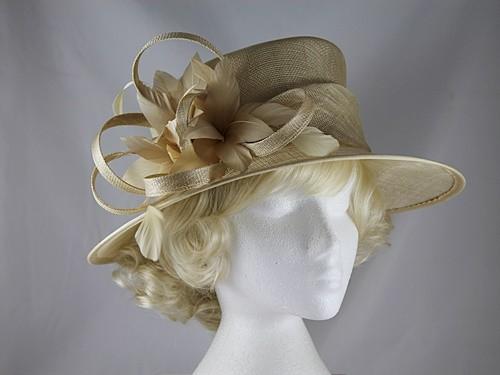 a5d9c290 Wedding Hats 4U - Failsworth Millinery Wedding Hat in Pebble - 7304