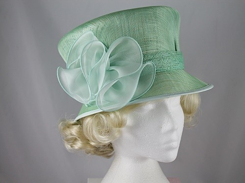 Peter Bettley Green Wedding Hat