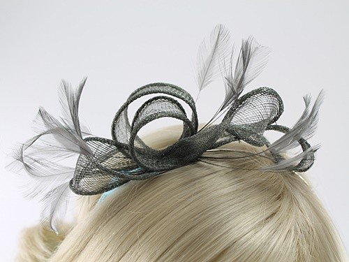 Max and Ellie Sinamay Fascinator