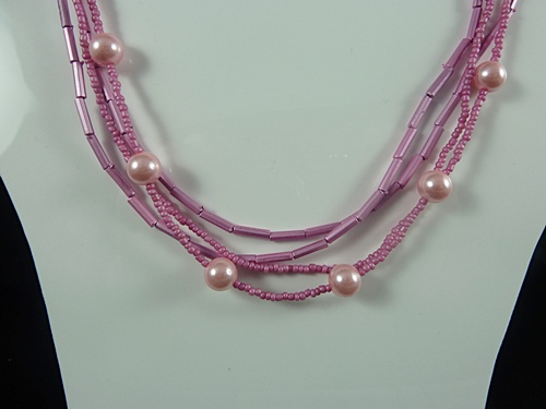 Tube Bead Necklace