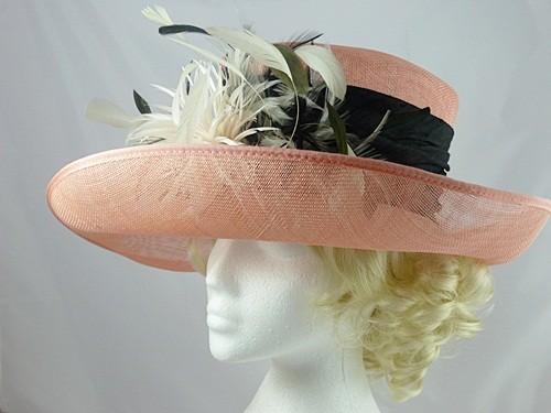 Pink Ascot Hat